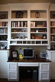 Computer Desk Built In Furniture Home Furniture Home Best Bookcases And Built In Desks