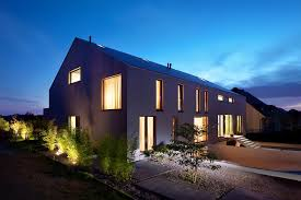 architects houses metaform architects 2 row houses in goeblange sgustok design