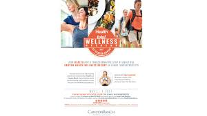 sign up for health u0027s total wellness weekend at canyon ranch