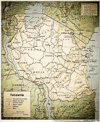 Tanzania Map Tanzania Map Jpg