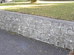 cinder block retaining wall foundation cinder block retaining