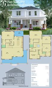 Wrap Around Porch Floor Plans by Plan 50152ph Bungalow House Plan With Two Master Suites