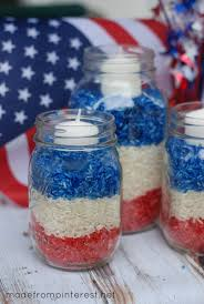 4th Of July Home Decor by 4th Of July Mason Jar Candles Tgif This Grandma Is Fun