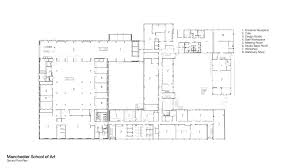 Art Studio Floor Plan Manchester Of Art Work Fcbstudios Ground Floor Plan Loversiq