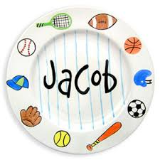 baby name plates personalized sports design birth plate boy