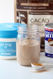 4 ingredient chocolate mousse with collagen nourish move love