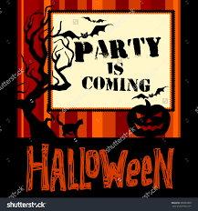 your invited halloween background halloween background traditional symbols this festival stock