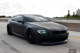 custom bmw m6 2007 matte black m6 with g power stage ii