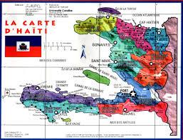 Haiti Map Haiti