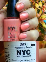 preened tried it nyc in a new york color minute in hamptons