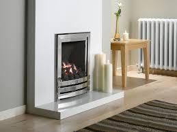 linear power flue gas fire no chimney silver coal fvpcu0mn