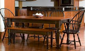 Farm Tables With Benches Custom Wood Tables Handcrafted Farmhouse Dining Tables
