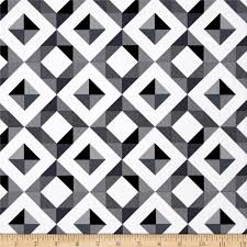 Discount Home Decor Fabric by Kaufman Geo Pop Canvas Home Decor Diamond Plaid Peopper Discount