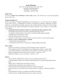 Best Cna Resume by Patient Care Technician Job Duties Proffessional Resume Template