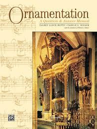 ornamentation a question answer manual piano book