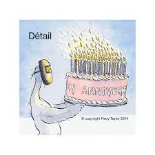 many many happy returns greeting card with birthday cake and
