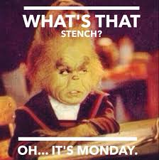Disgusting Monday Memes - grinch monday meme too funny pinterest grinch meme and mondays