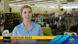 find just about everything at the liquidators discount center