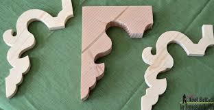 remodelaholic diy vintage inspired corbel building plan u0026 pattern