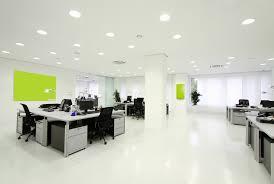 baffling home office interior design ideas with u shape curve