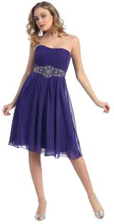 classic strapless chiffon plus size bridesmaid dress mq711