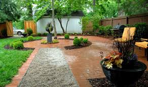 Walkway Ideas For Backyard by Gravel Walkways Ideas Outdoortheme Com