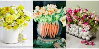 floral centerpieces 12 beautiful easter flowers and arrangements easy easter