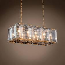 restoration revolution harlow crystal rectangular 10 light 34