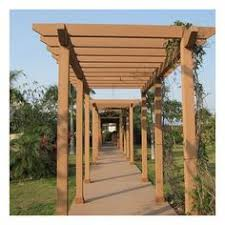 Inexpensive Pergola Kits by Beautiful Wpc Pergola Wooden Composite Pergola In Uae Private