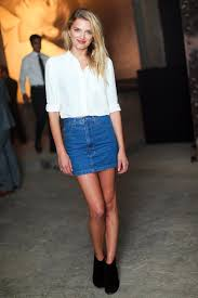 denim skirts how to wear the denim skirt in 2017 like a grown up the fashion