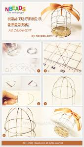 how to make a birdcage as ornament nbeads