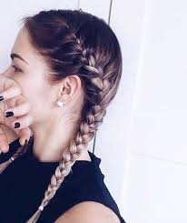 hairstyle with 2 shoulder braids best 25 two french braids ideas on pinterest two dutch braids