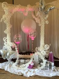 Table Decorating Balloons Ideas 56 Best Balloon Frames Images On Pinterest Balloon Decorations
