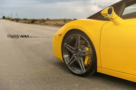 yellow lamborghini yellow lamborghini gallardo adv05 m v2 sl series wheels adv 1