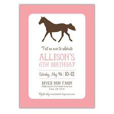 children u0027s birthday invitations brown paper studios