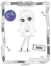 littlest pet shop blythe coloring sheet fun kids u0027 activities