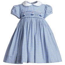 baby blue smocked dress smocked baby dresses babies
