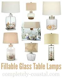 Clear Glass Table Lamp Best 25 Glass Table Lamps Ideas On Pinterest Clear Glass Lamps