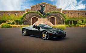 Ferrari 458 All Black - black ferrari 458 spider wallpaper 20294 freefuncar com