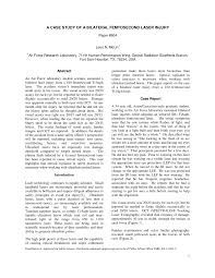 a case study of a bilateral femtosecond laser injury pdf download