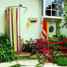 Shower Curtain Rod Round - round shower curtain rod in tropical los angeles with shower