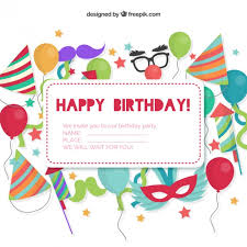 happy birthday simple design happy birthday invitation cards happy birthday invitation cards for
