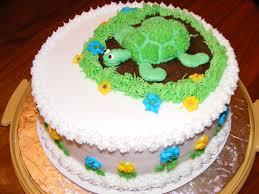 photo turtle baby shower cake image