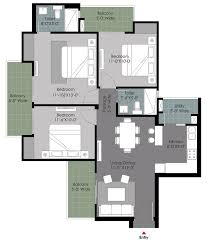 www floorplans com gulshan noida sector 144 floorplan