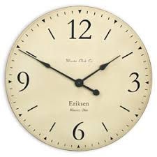 Personalized Anniversary Clock Personalized Clocks By Wooster Clock Company
