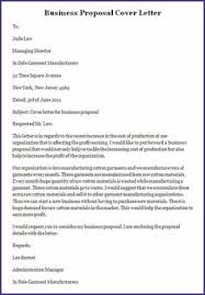 sample business proposal letters client cleaning home design