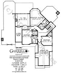 floor plan in french mayhaven cottage house plan 04067 2nd floor plan french country