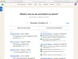 sample bug report basecamp 3 reports the what s new to do and what s to done report