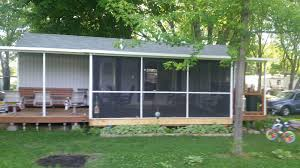 Screened Porches by Mobile Home U0026 Park Model Screen Porches