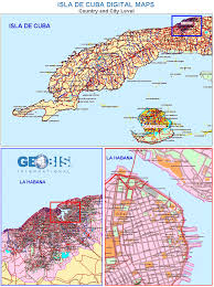 Map Cuba Cuba Digital Maps Population U0026 Buying Power Geobis Net